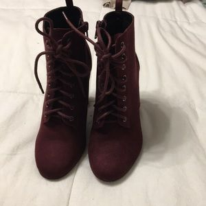 ModCloth Wine Booties